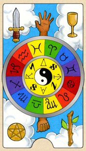 wheel of fortune colorful