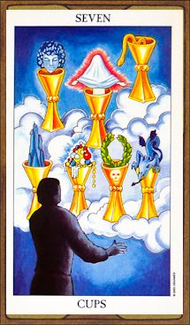 Seven of Cups - Get Real - Dina Berrin